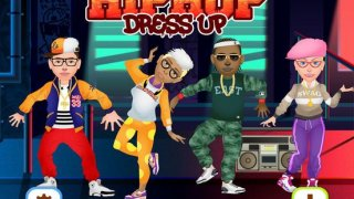! Hip Hop Fashion Stars Dress Up