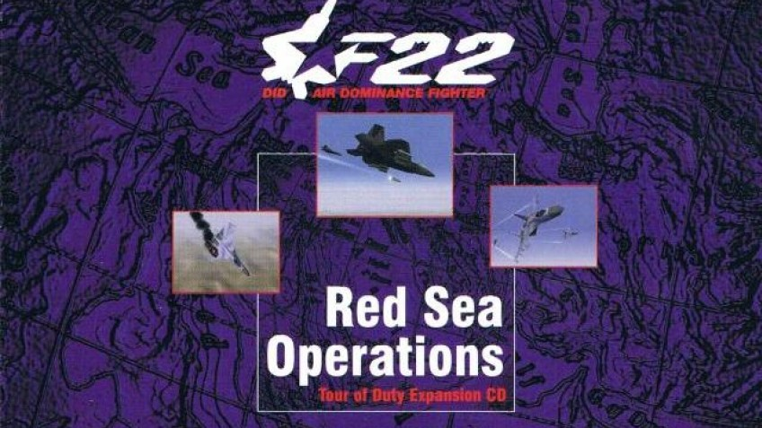 F-22 Air Dominance Fighter: Red Sea Operations