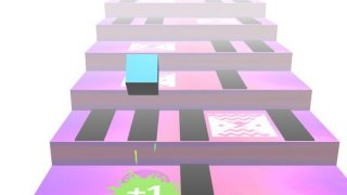 Cube Stars: Jump on stairs