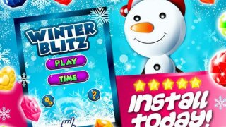 Winter Blitz Match-3 - harvest sweetest star candy-es and angry juice heroes swap free