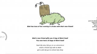 Blork: The 60 Second Pet! (itch)