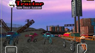 Spray Tractor Offroad Racing
