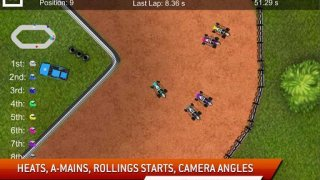 Dirt Racing Sprint Car Game 2
