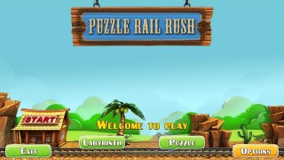 Puzzle Rail Rush (itch)