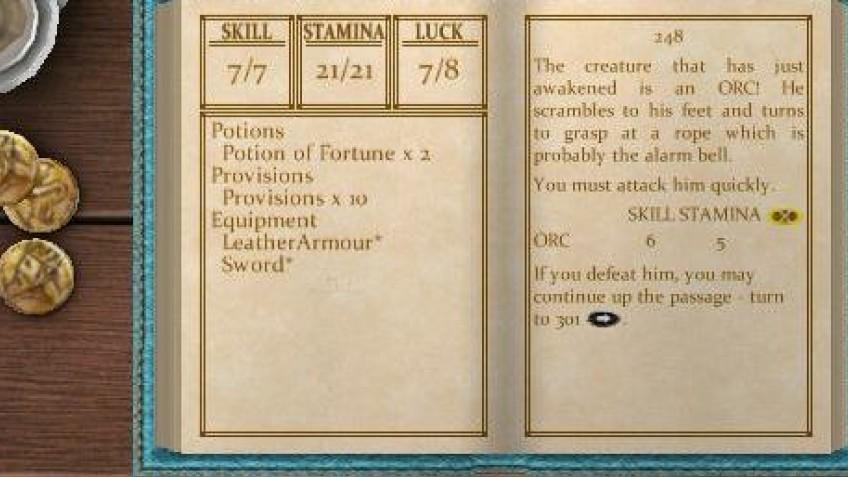 Fighting Fantasy: The Warlock of Firetop Mountain (2011)