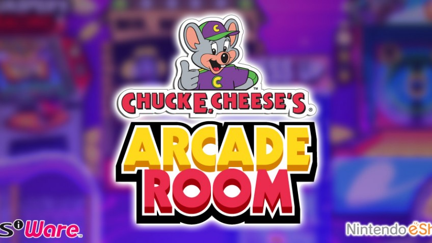 Chuck E. Cheese's Arcade Room