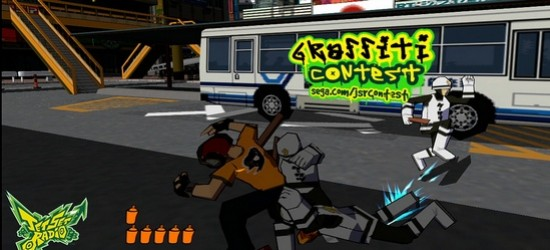 HD Jet Set Radio Blasts