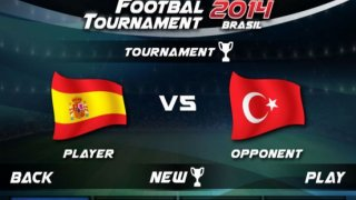 Play REAL FOOTBALL TOURNAMENT 2014