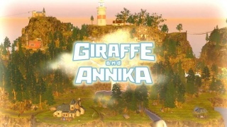 Giraffe and Annika