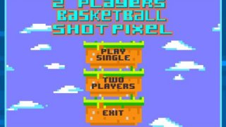 2 Player Basketball Toss Pixel