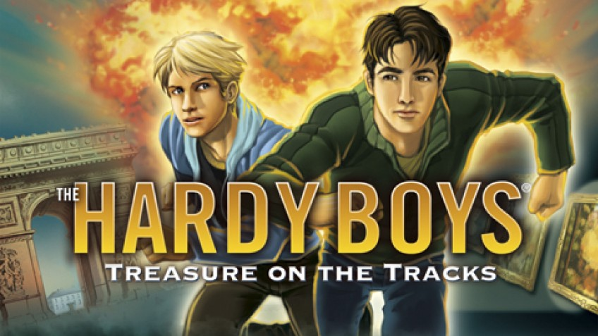 The Hardy Boys: Treasure on the Track