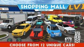 Shopping Mall Parking Lot