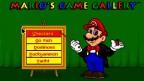 Mario's Game Gallery