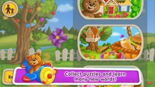 Puzzles for Toddlers with Learning Words for Kids