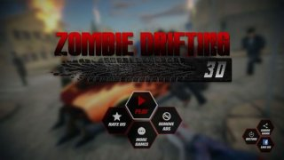 Zombie Car Drifting 3D