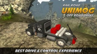 Unimog Off-Road Truck Simulator: Rail Road Drive