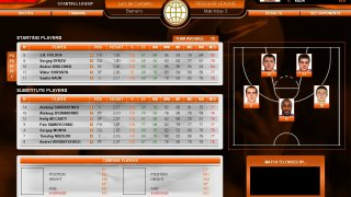 International Basketball Manager: Season 2010/11