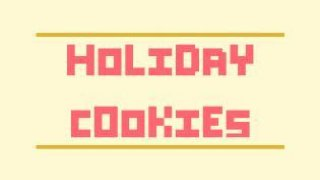 Holiday Cookies  (itch)