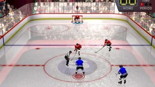 Slapshot Frenzy Ice Hockey