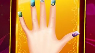 `Awesome Nails Salon Dress Up - Girl Beauty Makeover Spa Free