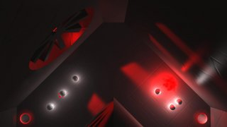 """Glow Ball"" - The billiard puzzle game"