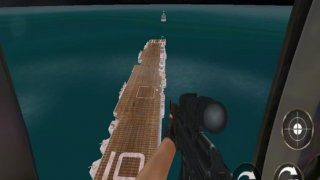 Navy Gunship Attack - Sea War
