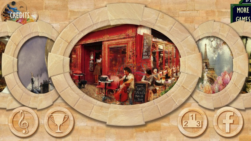 Romance with Chocolate: Hidden Object in Paris