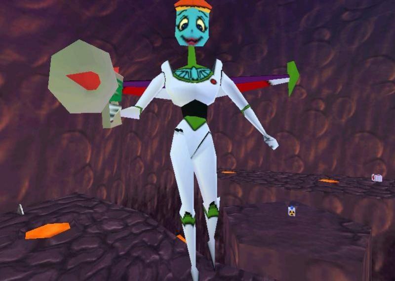 Disney/Pixar's Buzz Lightyear of Star Command Action Game
