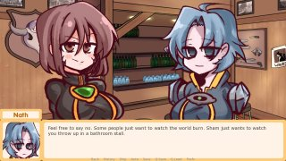 100% Orange Juice Visual Novel (Demo) (itch)