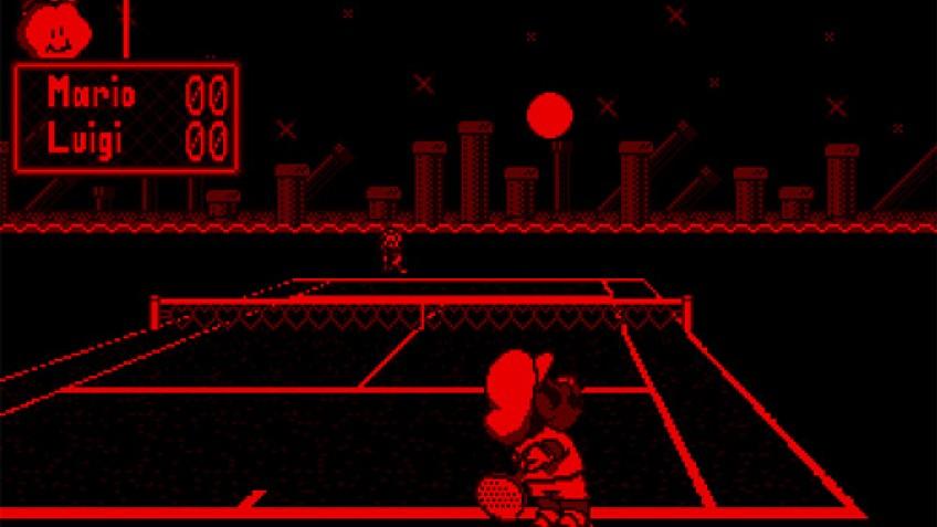 Mario's Tennis (1995)