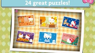 Hello Kitty Jigsaw Puzzles - Games for Kids ❤