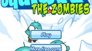 Squish The Zombies - Fun Time Killer Game with snowball