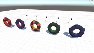 Unibot Ball Hoops and Balls Test (itch)