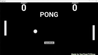 Pong Concours: Matthieu (itch)