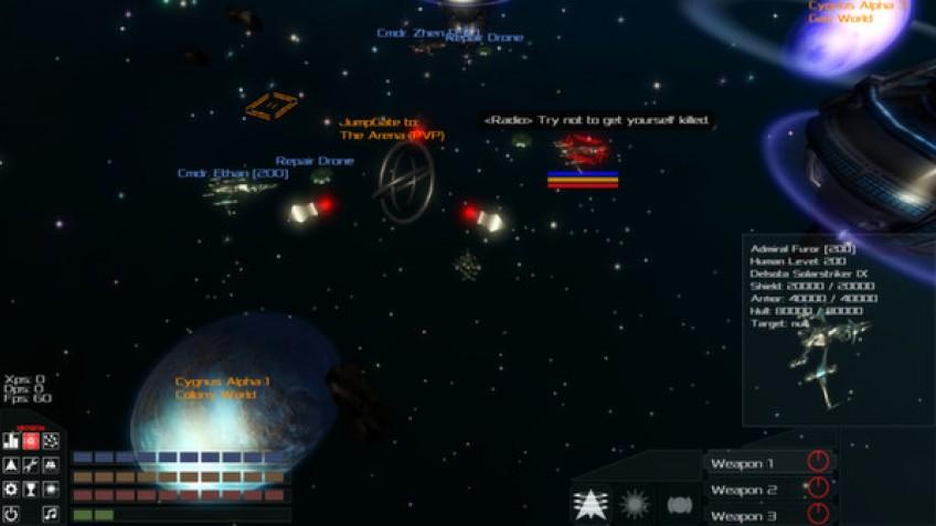 Galactic Arms Race