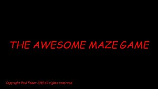 The awesome maze game (itch)