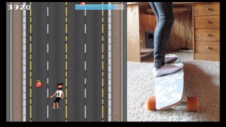 Turn your Longboard into a game controller (itch)