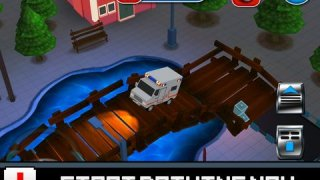 3D Blocky Moto Ambulance King - Emergency Dr Rush Road Parking Mini Game