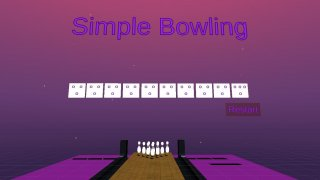 Simple Bowling VR (itch)