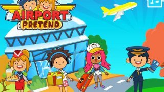 My Pretend Airport - Kids Travel Town Games