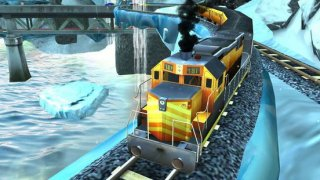 Train Simulator 3D. Uphill Driver Journey In Fun Racing Locomotive