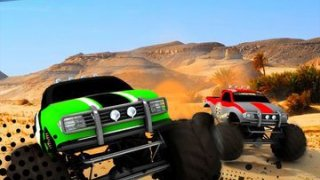 3D Highway Speed Chase - 4x4 Monster Truck Nitro Racer: Real Off-road Driving Experience
