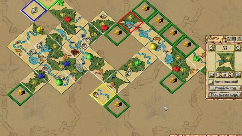Carcassonne:  Die Jaeger und Sammler