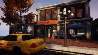 UE4 Virtual Diorama - Downtown in the Fall (itch)