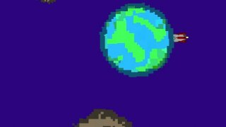 Journey Through The Asteroid Belt (itch)