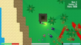 Survive: A Top-down Zombie Defense Game (itch)