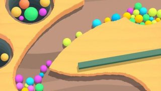 Sand Action - Collect Balls 3D