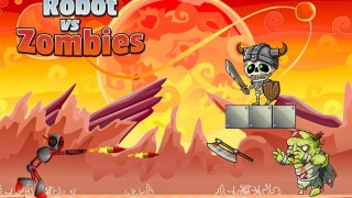 Robot Vs Zombies War 2D (itch)