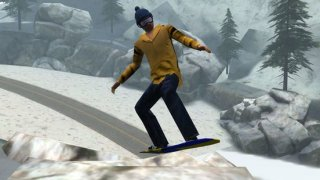 3D Snowboard Racing - eXtreme Snowboarding Crazy Race Games