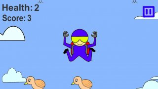 Skydive Man (itch)
